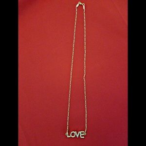 Stainless LOVE Necklace 💎